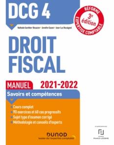 DCG 4 Droit fiscal - Manuel 2021-2022