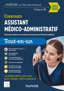 Concours Assistant médico-administratif 2021-2022 Tout-en-un