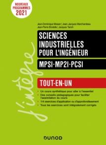 Sciences industrielles pour l'ingénieur MPSI-MP2I-PCSI