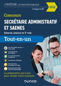 Concours Secrétaire administratif et SAENES - Concours 2022