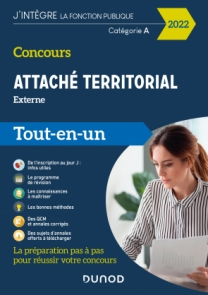 Concours Attaché territorial Externe 2022