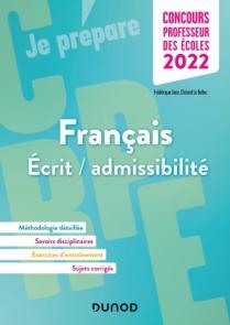 Concours Professeur des écoles - Français - Ecrit / admissibilité - CRPE 2022