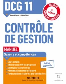 DCG 11 Contrôle de gestion - Manuel