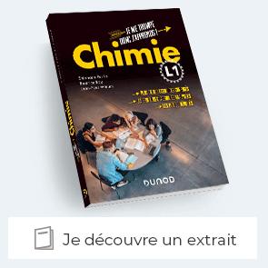 """Extrait de """"Chimie L1 - Je me trompe donc j'apprends"""""""