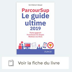 Extrait de Parcoursup Le Guide ultime 2019