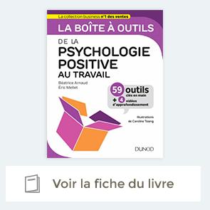 Fiche livre La boîte à outils de la psychologie positive au travail