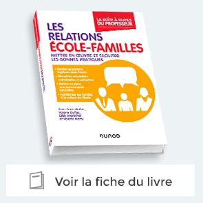 Livre : la relation école-familles - La Boite à Outils du professeur