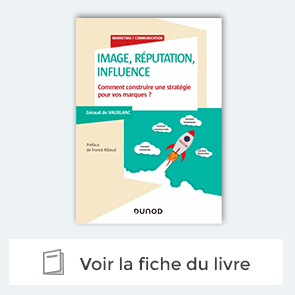 """livre """"Image, réputation, influence"""" de Géraud de Vaublanc"""