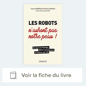 """Fiche du livre """"Les robots n'auront pas notre peau !"""""""