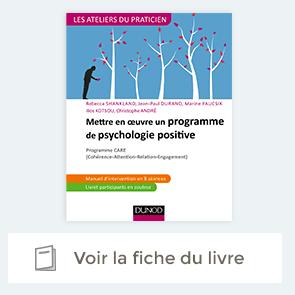 """Fiche du livre """"Mettre en oeuvre un programme de psychologie positive"""""""