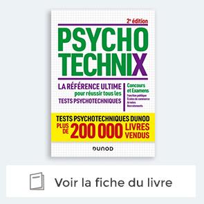 livre PsychotechniX - La référence ultime pour réussir les tests psychotechniques
