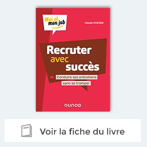 """decouvrez le livre """"recruter avec succes"""" Claude d'Estais"""