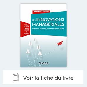 """Découvrez le livre """"Les innovations managériales Donner du sens à la transformation"""""""