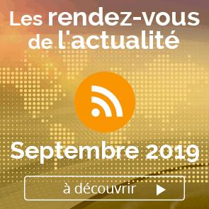 Le meilleur de l'actualité - septembre 2019