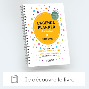 Je découvre l'Agenda planner de ma classe 2021-2022