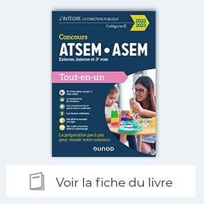 voir la fiche du livre : Concours ATSEM/ASEM