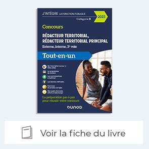 Fiche - Concours Rédacteur territorial. Externe, interne et 3e voie - fonction publique