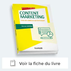 """Découvrir le livre """"Content Marketing Créer des contenus qui font vendre"""""""