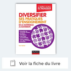 """découvrez le livre Livre """"Diversifier ses pratiques d'enseignement"""""""