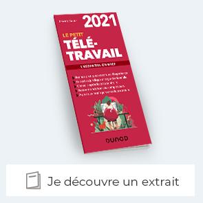 """Découvrez le livre """"le petit teleltravail 2021"""""""