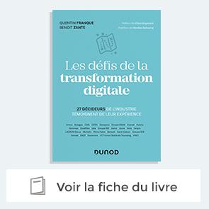 """Livre """"les defis de la transformation digitale"""""""