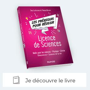 """Je découvre le livre """"Les prérequis pour réussir - Licence de Sciences"""""""