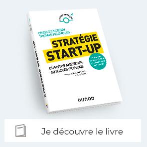 """Je découvre le livre """"stratégie start-up"""""""