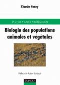 Biologie des populations animales et végétales