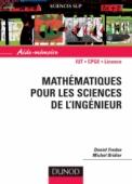 Aide-mémoire de mathématiques pour les sciences de l'ingénieur