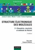 La structure électronique des molécules - Tome 2