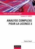 Analyse complexe pour la Licence 3