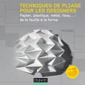Techniques de pliage pour les designers (livre + cédérom)