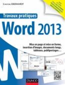 Travaux pratiques - Word 2013