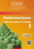 Mathématiques Tout-en-un pour la Licence 3