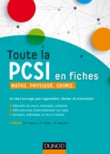 Toute la PCSI en fiches