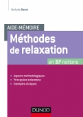 Aide-mémoire - Méthodes de relaxation
