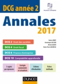DCG Année 2 - Annales 2017