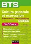 BTS Culture générale et Expression 2016/2017