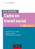 Aide-mémoire - Cadre en travail social