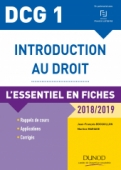DCG 1 - Introduction au droit - 2018/2019