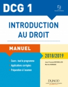 DCG 1 - Introduction au droit