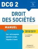 DCG 2 - Droit des sociétés 2018/2019