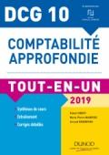DCG 10 - Comptabilité approfondie 2019