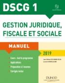 DSCG 1 - Gestion juridique, fiscale et sociale 2019