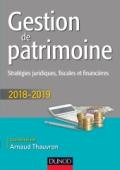 Gestion de patrimoine - 2018-2019