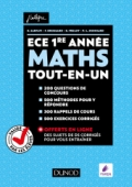 Maths ECE 1re année - Tout-en-un