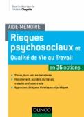 Aide-mémoire - Risques psychosociaux et qualité de vie au travail