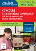 Concours Assistant médico-administratif 2019-2020 Tout-en-un Catégorie B