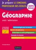Géographie - Professeur des écoles - oral / admission - CRPE 2019