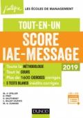 Score IAE-Message - 2019